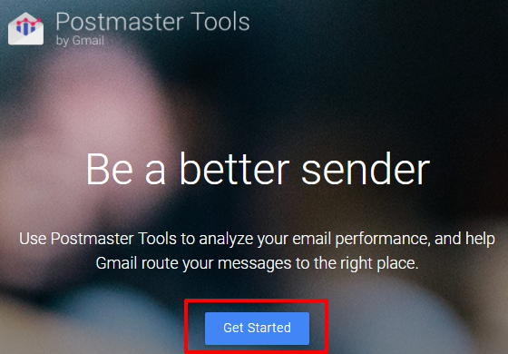 Gmail Postmaster Tools
